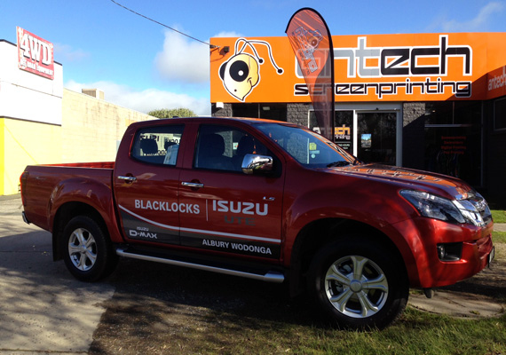 Vehicle Graphics Albury Wodonga